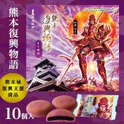 清正製菓 熊本復興物語(紫芋饅頭)