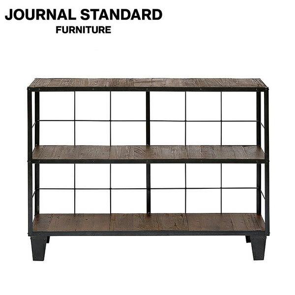 journal standard Furniture ジャーナルスタンダードファニチャー CALVI WIDE SHELF カルビ ワイドシェルフ 幅123cm B008RE56J6 家具 【送料無料】