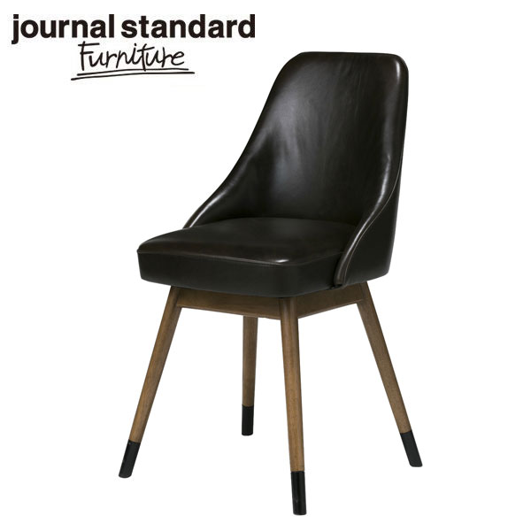 journal standard Furniture ジャーナルスタンダードファニチャー BOWERY CHAIR LEATHER レザーチェア 家具 【送料無料】【ポイント10倍】