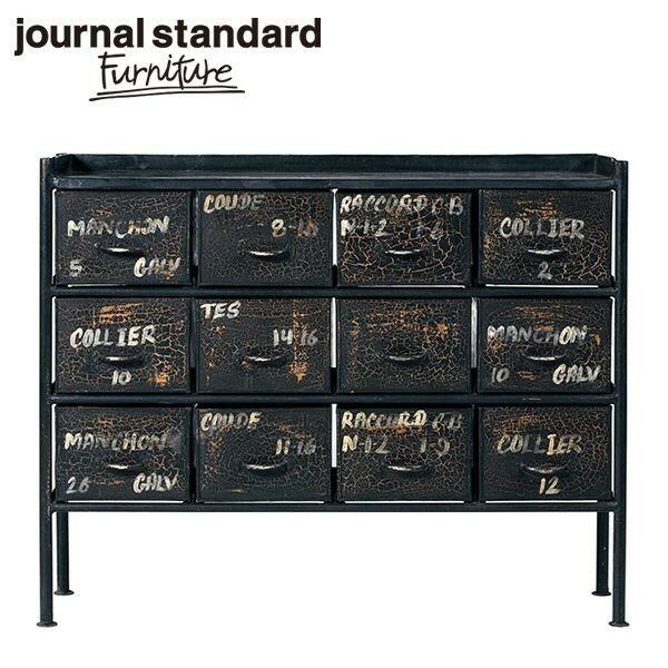 journal standard Furniture ジャーナルスタンダードファニチャー GUIDEL 12DRAWER CHEST WIDE ギデル 12ドロワーチェスト ワイド 幅110cm B00FRZI8MK【ポイント10倍】:journal standard Furniture