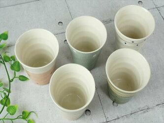 【ZEN-禅-】5柄セットフリーカップ250cc小粋タンブラーカップコップ美濃焼和食器食器器ギフト専用BOX入ラッピング対応可のし不可