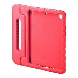iPad 10.2インチ  衝撃吸収ケース レッド PDA-IPAD1605R