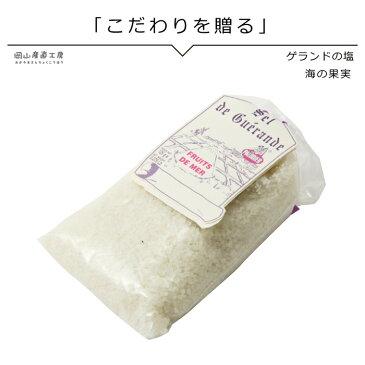 海の果実 お土産 グルメ 塩 フランス ゲランドの塩 125g ビニール袋入り フランス有機農業推進団体認定品