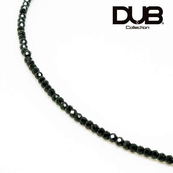 【DUB collection ダブコレクション】シルバー ブラックスピネル ネックレス【送料無料】SV 【楽ギフ_包装選択】