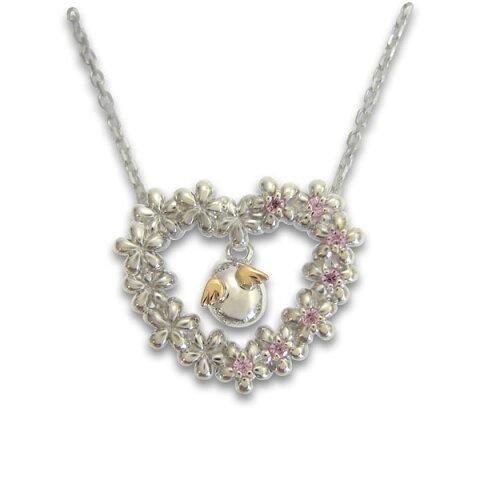【天使の卵】シルバー K18 ペンダント ネックレス SV Silver ネックレス【楽ギフ_包装選択】