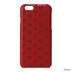 【ディズニーiPhone6用レザーハードケース】【ミニーマウス】pgdcs886mneiphone6disneyケースレザーアップルポイント送料無料apple4562358078866