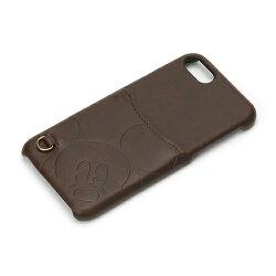 iPhone7用ハードケースポケット付き【ミッキーマウス/ブラウン】pgdcs166mkydisneyiphone7ドコモauソフトバンクスマホappleユニセックス送料無料ケースポイント456235813166010P