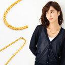 24金 K24 純金 ネックレス チューリップデザイン グラデーションネックレス 約45cm 約9.1g【造幣局品位...