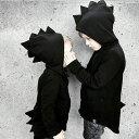 恐竜造形 怪獣 ジュニア子供服/アウター 帽子付きコート パーカー 子ども服 薄手長袖 可愛い ハロウィン コスプレ ギフト 贈り物【ra55707】