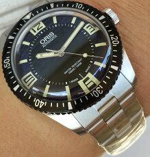 腕時計メンズウォッチORISオリスダイバーズ65