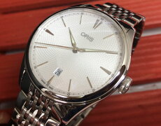 腕時計メンズウォッチORISオリスアートリエデイト国内正規3年保証733.7721.4051M