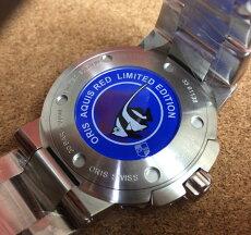 オリスORIS腕時計メンズウォッチアクイスレッドリミテッド限定ダイバー国内正規3年保証733.7653.4183M