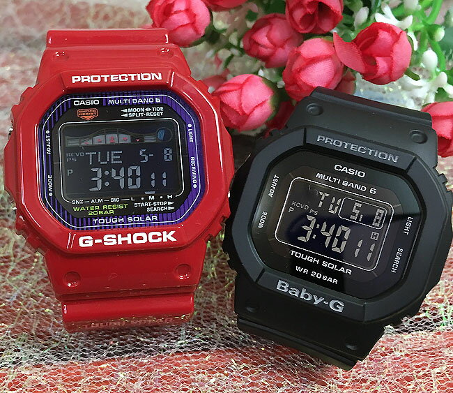 腕時計, ペアウォッチ G G-SHOCK BABY-G 2 g g GWX-5600C-4JF BGD-5000MD-1JF G-LIDE