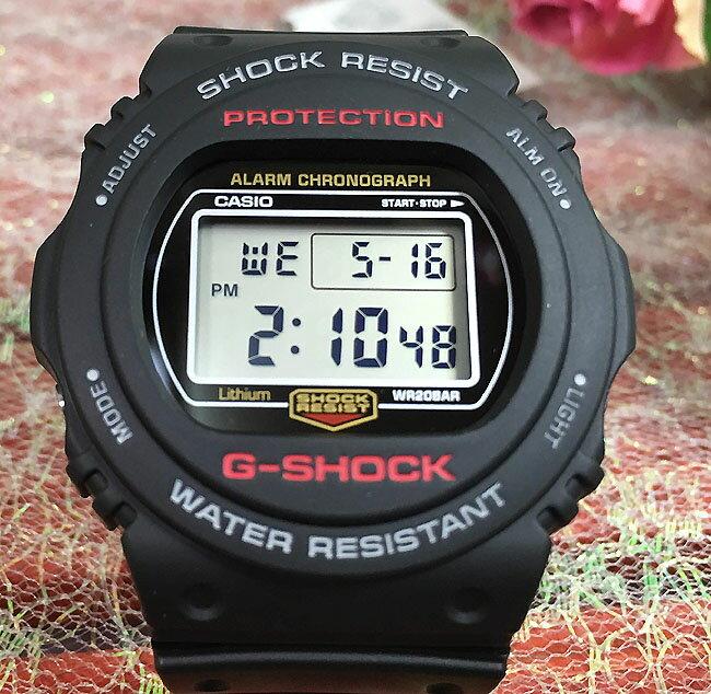 好きだよ恋人たちのGショックペアウォッチ G-SHOCK BABY-G DW5700の復刻版 ペア腕時計 双子コーデ カシオ 2本セット gショックDW-5750E-1JF  DW-5750E-1JF人気 ラッピング無料 あす楽対応 クリスマスプレゼント