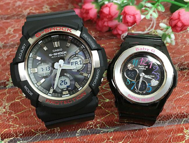 腕時計, ペアウォッチ G G-SHOCK BABY-G 2 g g GAW-100-1AJF BGA-101-1BJF g-shock