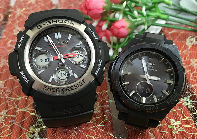 腕時計, ペアウォッチ G G-SHOCK BABY-G 2 g AWG-M100-1AJF MSG-W200G-1A2JF