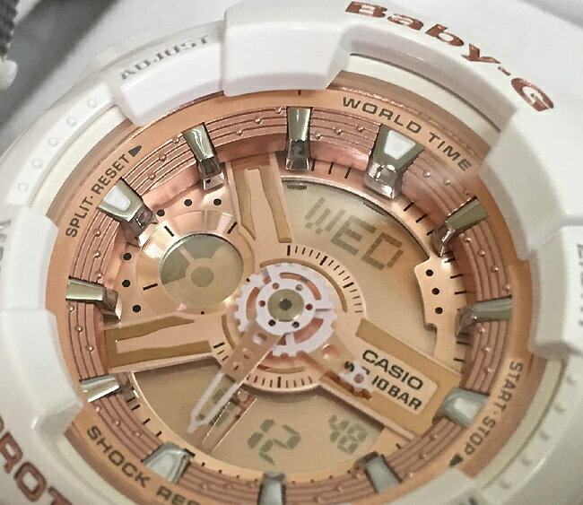 恋人たちのGショックペアウオッチ gショック G-SHOCK  BABY-G ペア腕時計 カシオ 2本セット ベビーg GA-110RG-7AJF BA-110-7A1JF プレゼントギフト人気モデル時は有限。愛は無限。二人は永遠 ラッピング無料 新品g-shock 正規品
