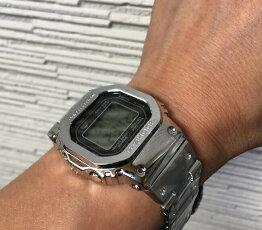新品正規品GショックフルメタルG-SHOCKカシオgショック電波ソーラーGMW-B5000D-1JFブルートゥース対応人気ラッピング無料あす楽対応手書きのメッセージカードお付けします腕周りの調整無料ベルト調整無料