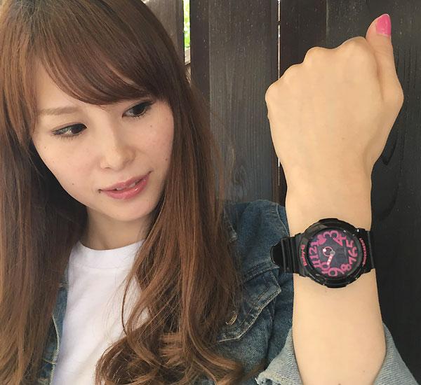 BABY-G カシオ gショック ベビーg アナデジ BGA-130-1BJF プレゼント腕時計 ギフト 人気 ラッピング無料愛の証 感謝の気持ち  baby-g 国内正規品 新品 メッセージカード手書きします あす楽対応