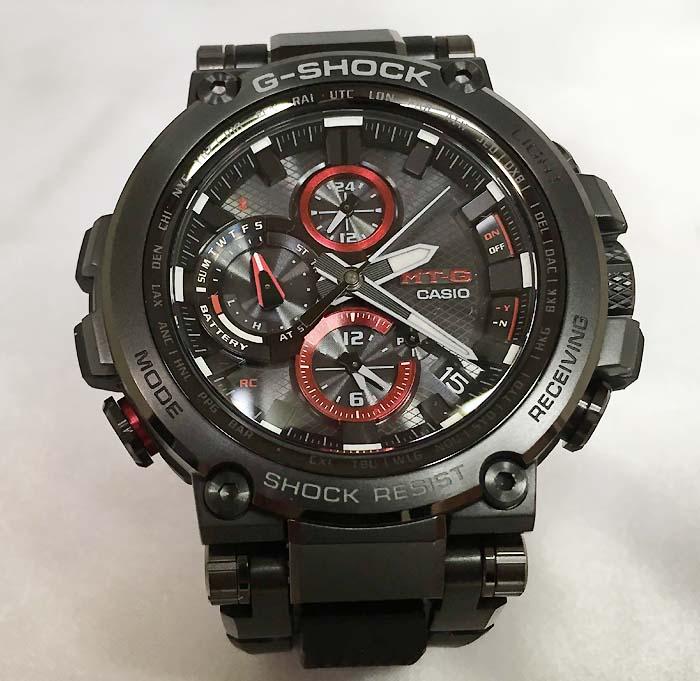 腕時計, メンズ腕時計  CASIO G-SHOCK MT-G Bluetooth MTG-B1000B-1AJF g-shock