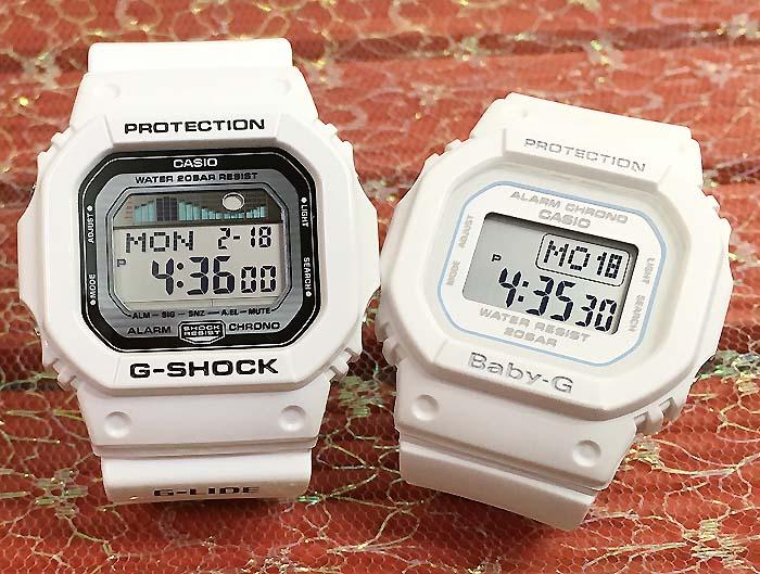 恋人たちのGショックペアペアウォッチ G-SHOCK BABY-G ペア腕時計 カシオ 2本セット gショック ベビーg アナデジ GLX-5600-7JF BGD-560-7JF お揃い プレゼント ギフト あす楽対応人気 ラッピング無料 クリスマス