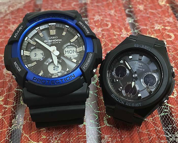 腕時計, ペアウォッチ G G-SHOCK BABY-G 2 g GAW-100B-1A2JF MSG-W100G-1AJF