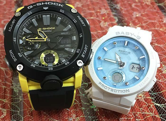 腕時計, ペアウォッチ G G-SHOCK BABY-G 2 g g GA-2000-1A9JF BGA-250-7AJF