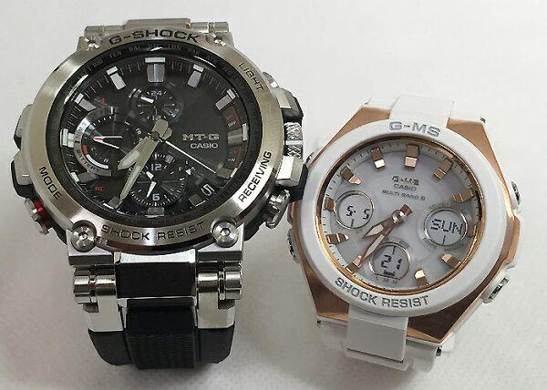 恋人たちのGショックペアウオッチG-SHOCKBABY-Gペア腕時計カシオ2本セットgショック電波ソーラーMTG-B1000-1