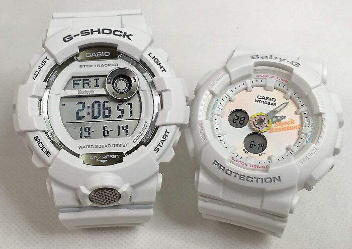 腕時計, ペアウォッチ G G-SHOCK BABY-G 2 g g GBD-800-7JF BA-120T-7AJF