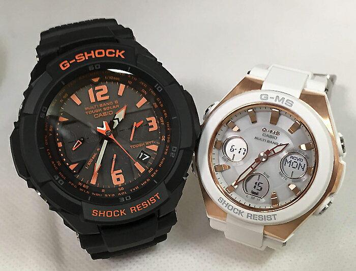 腕時計, ペアウォッチ G G-SHOCK BABY-G 2 g GW-3000B-1AJF MSG-W100G-7AJF