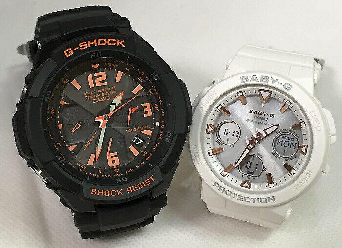 恋人たちのGショックペアウォッチ G-SHOCK BABY-G ペア腕時計 カシオ 2本セット gショック 電波ソーラー GW-3000B-1AJF BGA-2500-7AJF 人気 ラッピング無料 あす楽対応 クリスマスプレゼント ほんのり好きでいてください