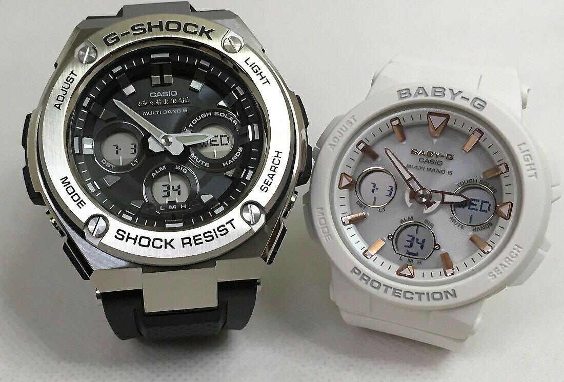 腕時計, ペアウォッチ G G-SHOCK BABY-G 2 g GST-W310-1AJF BGA-2500-7AJF
