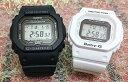 恋人たちのGショック ペアウオッチ G-SHOCK BABY-G ペア腕時計 カシオ ネイビー ホワイト 電波ソーラー2本セット GW-5000-1JF BGD-5000-7JF プレゼント ギフト ラッピング無料 メッセージカード g-shock ペアウオッチ