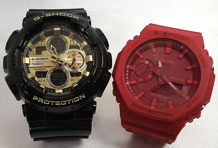 腕時計, ペアウォッチ G G-SHOCK GA-140GB-1A1JF GA-2100-4AJF g-shock
