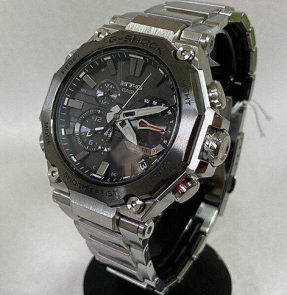 カシオCASIO腕時計G-SHOCKジーショックMT-GBluetooth搭載電波ソーラーMTG-B2000D-1AJFメンズ腕