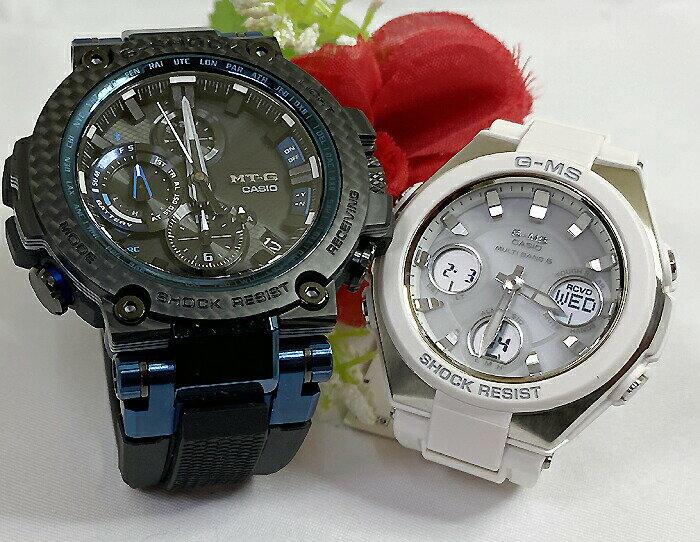 腕時計, ペアウォッチ G G-SHOCK BABY-G 2 g MTG-B1000XB-1AJF MSG-W100-7AJF