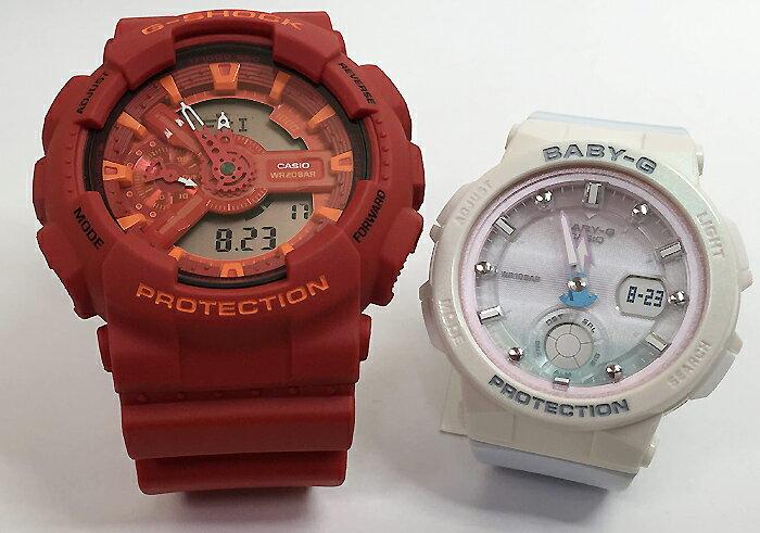 腕時計, ペアウォッチ G G-SHOCK BABY-G 2 g g GA-110AC-4AJF BGA-250-7A3JF g-shock