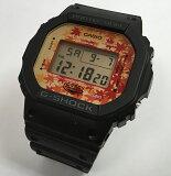 カシオ CASIO 腕時計 G-SHOCK ジーショック DW-5600TAL-1JR 限定モデル メンズ腕時計 あす楽対応 日本の秋を彩る紅葉をデザインモチーフにしたNewモデル「Kyo Momiji Color」京紅葉