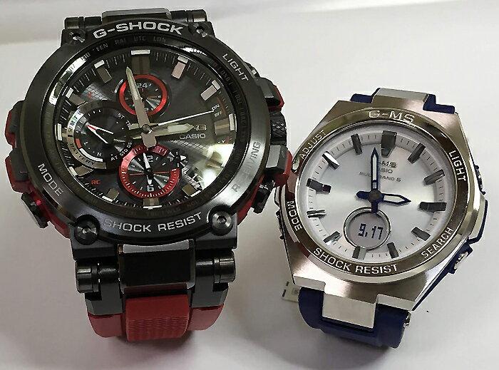 腕時計, ペアウォッチ G G-SHOCK BABY-G 2 g MTG-B1000B-1A4JF MSG-W200-2AJF