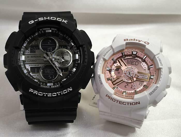腕時計, ペアウォッチ G G-SHOCK BABY-G 2 g g GA-140GM-1A1JF BA-110-7A1JF g-shock