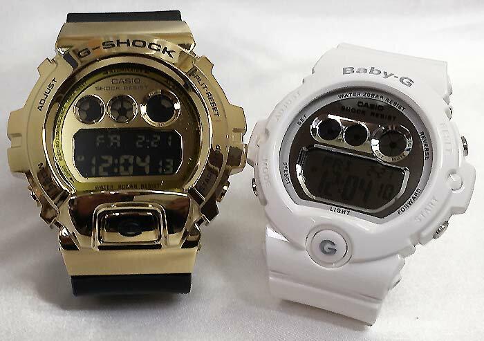 腕時計, ペアウォッチ G G-SHOCK BABY-G 2 g g GM-6900G-9JF BG-6900-7JF g-shock