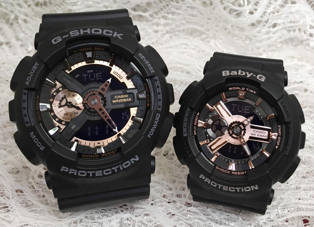 CASIO(カシオ)『G-SHOCK/BABY-G(GA-110RG-1AJF/BA-110RG-1AJF)』