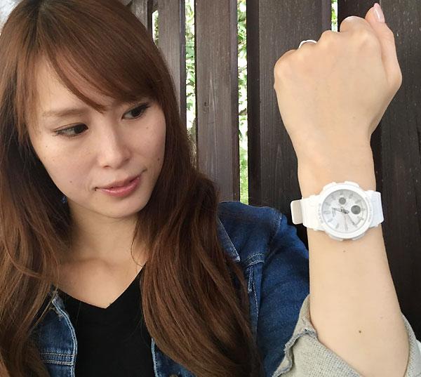 恋人たちのGショックペアウオッチ  G-SHOCK ペア腕時計 カシオ GA-300-7AJF BGA-255-7AJF プレゼント ギフト  ラッピング無料 g-shock メッセージカード手書きします あす楽対応 クリスマスプレゼント