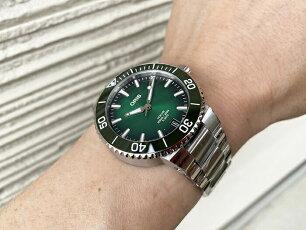 オリスジャパン正規3年保証ORISオリス腕時計メンズウォッチアクイスダイバーズ733.7730.4157M自動巻きダイバーズウオッチギフト人気ラッピング無料国内正規3年保証あす楽対応