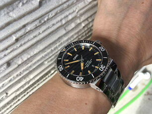 オリスORIS腕時計メンズウォッチアクイスダイバーズ