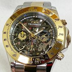 腕時計メンズウォッチTECHNOSテクノス