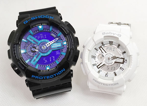 腕時計, ペアウォッチ G G-SHOCK BABY-G 2 g g GA-110HC-1AJF BA-110-7A3JF