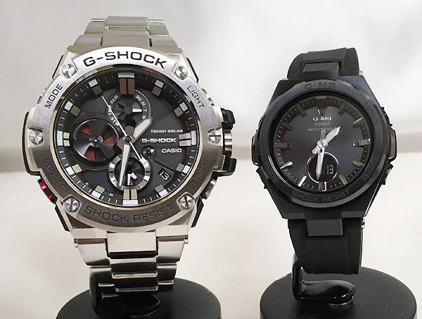 腕時計, ペアウォッチ G G-SHOCK BABY-G 2 g g GST-B100D-1AJF MSG-W200G-1A2JF