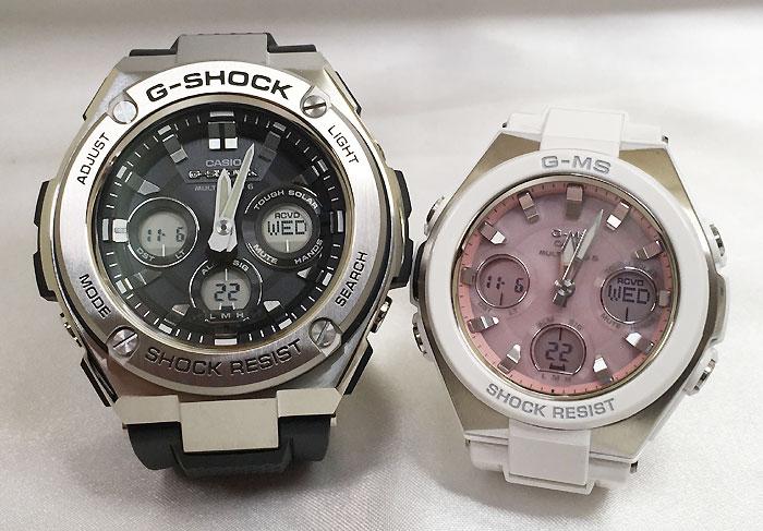 腕時計, ペアウォッチ G G-SHOCK BABY-G G G-MS 2 g GST-W310-1AJF MSG-W100-7AJF