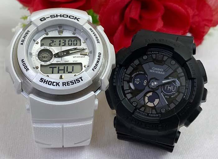 腕時計, ペアウォッチ G G G-SHOCK BABY-G 2 g g G-300LV-7AJF BA-130-1AJF g-shock